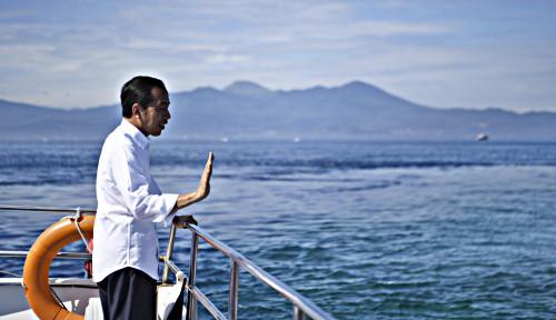Foto Jokowi Minta UMKM Dilibatkan di Proyek Infrastruktur dan Rest Area