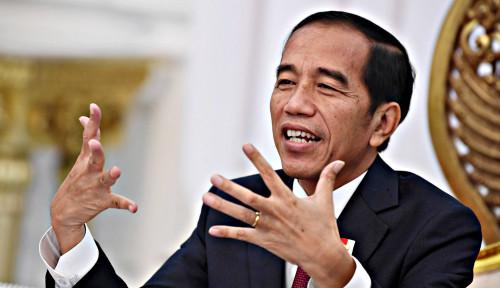 Foto Jokowi Dituding Terlibat Pencekalan Pimpinan FPI, PDIP: Rizieq Lagi Mengkhayal