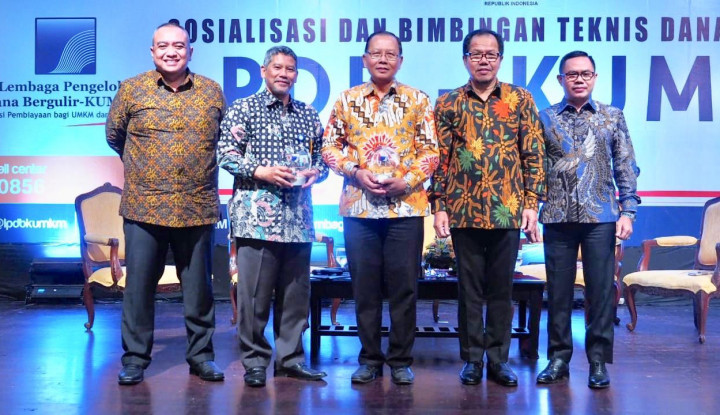 Di Kaltim, LPDB KUMKM Salurkan Rp322 M Dana Bergulir - Warta Ekonomi