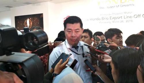 Foto Semester I, Brio Satya Dongkrak Penjualan Honda