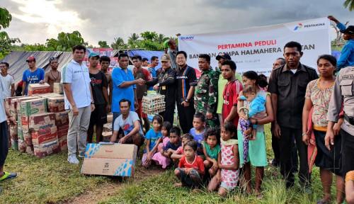 Foto Ada Gempa di Maluku Utara, Pertamina Langsung Kirim Bantuan
