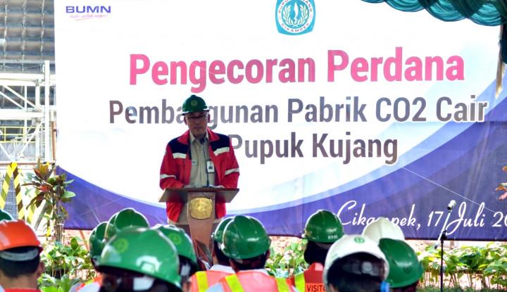 Anak Usaha Pupuk Indonesia Bangun Pabrik CO2 Cair - Warta Ekonomi