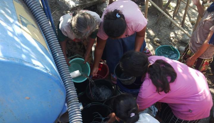 Tegal Kekeringan, ACT Kirim Belasan Ribu Liter Air Bersih - Warta Ekonomi