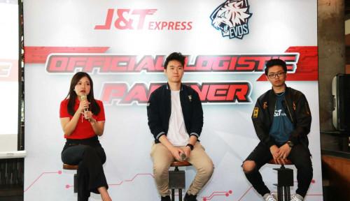 J&T Express Resmi Jadi Partner Logistik EVOS E-Sports