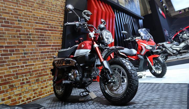 AHM Mulai Pasarkan Motor Ikonik dan Unik Honda Monkey - Warta Ekonomi