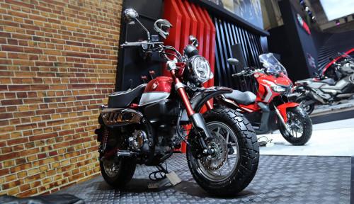 Foto AHM Mulai Pasarkan Motor Ikonik dan Unik Honda Monkey