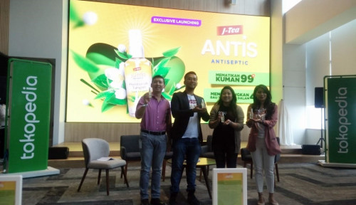 Foto Gandeng Tokopedia, Enesis Group Luncurkan Antis Jasmine Tea