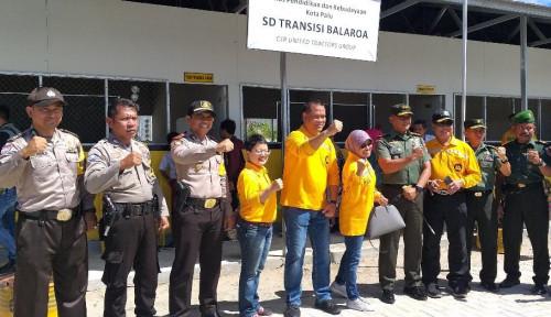 United Tractors Gelontorkan Rp6,5 Miliar  Rehabilitasi Fasilitas di Palu