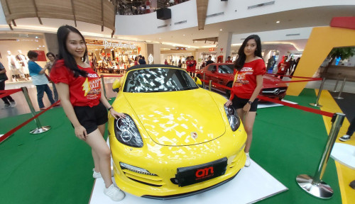 Foto Akumobil Motor Show Tawarkan Mobil Mewah Hanya Rp50 Juta
