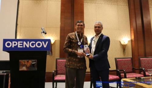 Foto Kementan Terima Reward Inisiatif Agriculture 4.0 dari OpenGov Asia