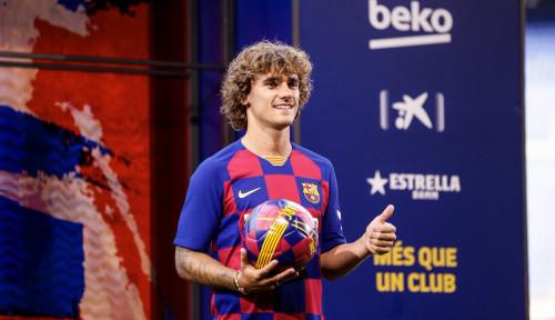 Foto Federasi Sepak Bola Spanyol Jatuhi Denda 300 Euro ke Barcelona Gara-gara Griezmann