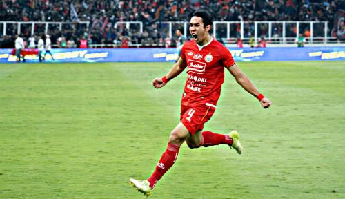 Foto Persija Kalahkan PSM 1-0 di Leg I Final Piala Indonesia