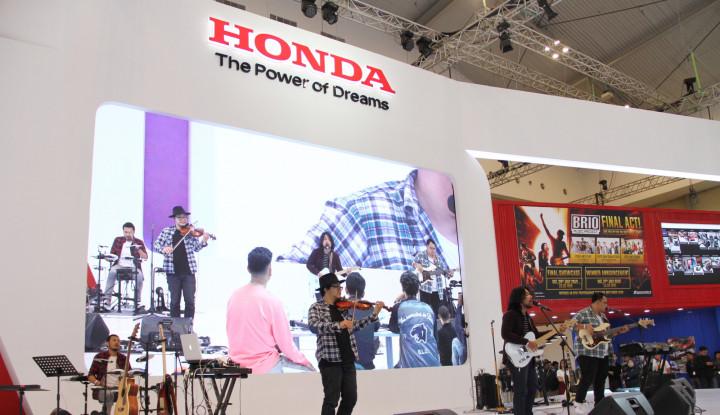 Honda Umumkan Tiga Finalis Brio Music Project di Ajang GIIAS 2019 - Warta Ekonomi