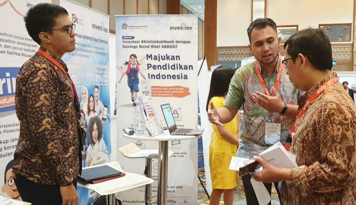 Investree Ramaikan Event Indonesia Development Forum