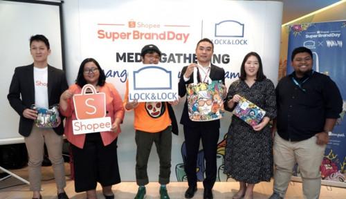 Foto Lock&Lock Luncurkan 3 Koleksi Eksklusif Karya Muklay di Shopee Super Brand Day