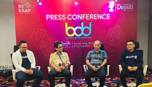 Foto Bekraf  Dorong Kontribusi Industri Kreatif Digital di Kalimantan Barat
