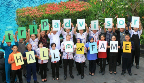 Foto Hotel Melia Purosani Yogyakarta Raih Sertifikat TripAdvisor Hall of Fame
