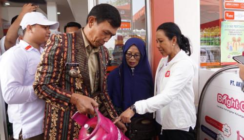 Foto Genjot Perekonomian Desa, Rini Targetkan 100 BUMN Shop di Sukabumi