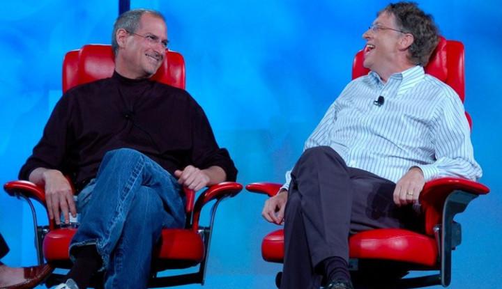 Foto Berita Terkaget-kaget sampai Bingung, Bill Gates Takjub dengan Kesuksesan iTunes Milik Apple
