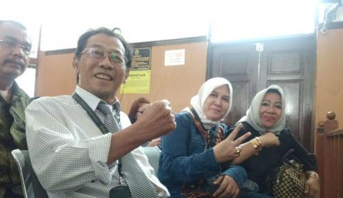Foto Sri Bintang Pamungkas Jadi Saksi Sidang Praperadilan Kivlan Zen