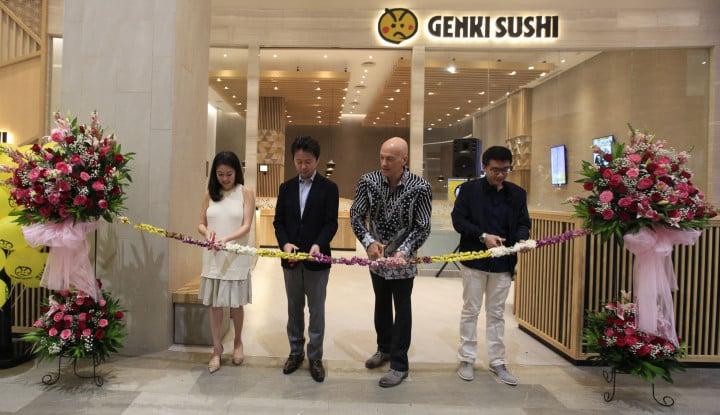 Genki Sushi Hadir di Trans Studio Mall Cibubur - Warta Ekonomi