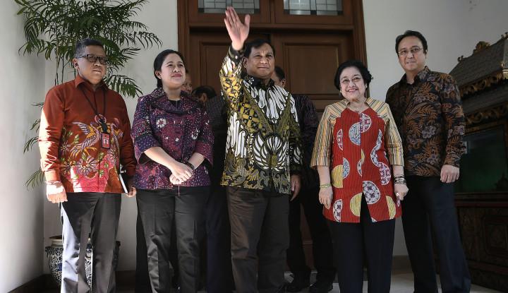 Gerindra Ngalah Soal Ketua MPR, 2024 PDIP Duet sama Prabowo? - Warta Ekonomi