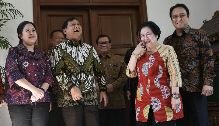 2024, Gerindra Pasti Prabowo, PDIP Tergantung Bu Mega Usung...