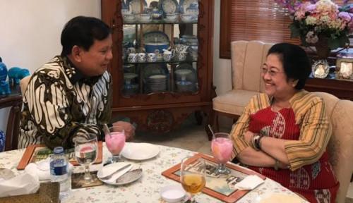 Foto Giliran Mega Diundang, Sinyal Kuat Gerindra Merapat ke Jokowi?