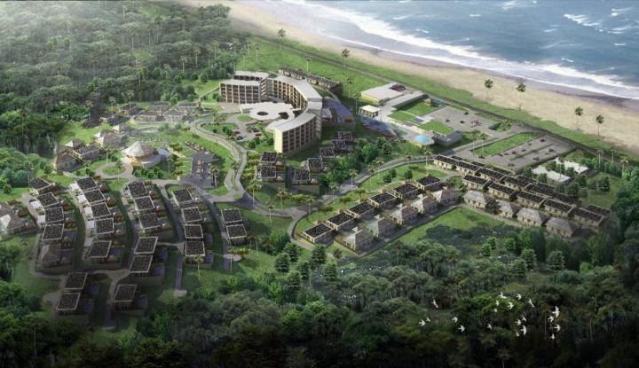 Novus Jiva, Ikon Baru di Pantai Anyer - Warta Ekonomi