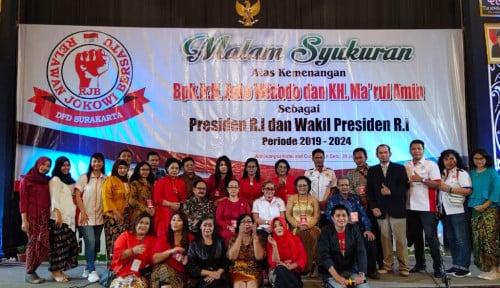 Foto Pelantikan, Relawan Jokowi-Ma'ruf Bakal Lakukan . . . .