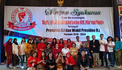 Foto RJB Gelar Syukuran di Surakarta, Markas Jokowi