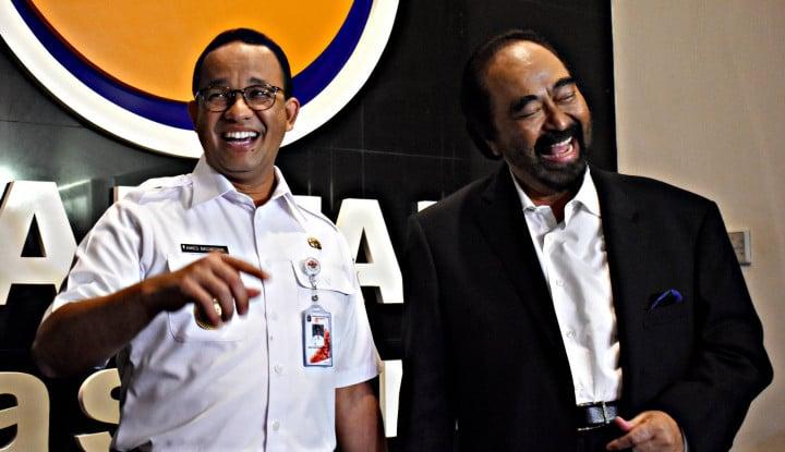 Soal Anggaran Tim Gubernur Jakarta Naik, Nasdem Belain Anies?
