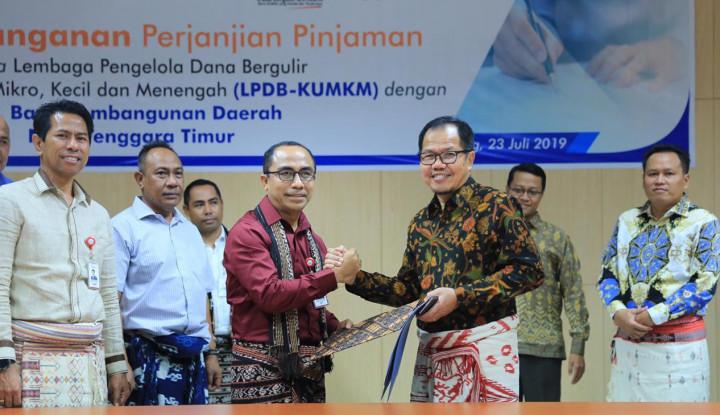 LPDB Buka Akses Pembiayaan Bagi Peternak Sapi di Kupang - Warta Ekonomi
