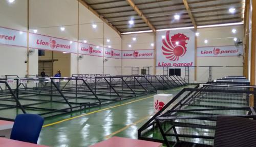 Foto Perkuat Bisnis Pengiriman Logistik, Lion Parcel Operasikan Warehouse di Batam