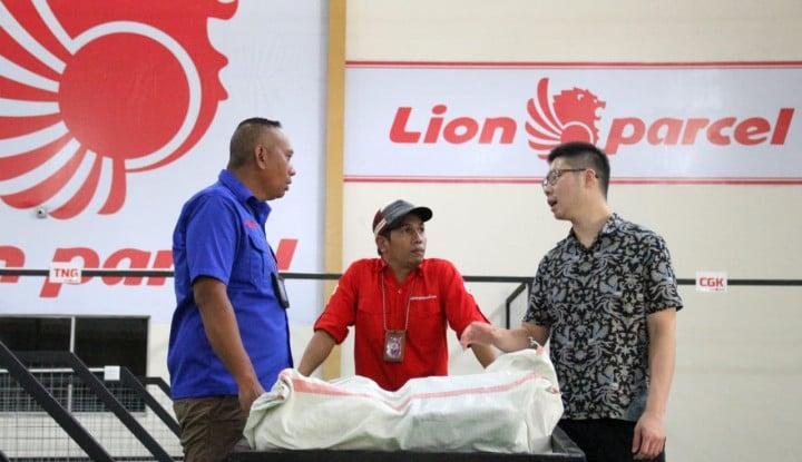 Lion Parcel Bidik Volume Pengiriman Logistik Naik Jadi 10 Juta Kg per Bulan - Warta Ekonomi
