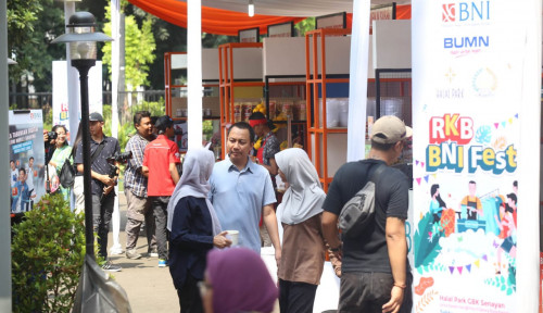 Foto RKB BNI Fest, Cara BNI Kembangkan UMKM Binaan