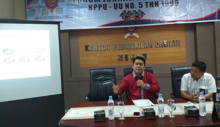 KPPU Catat 40 Pelaku Usaha di Sumut Tidak Kooperatif Jalankan Sanksi
