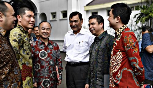 Foto Gerindra Masuk Gerbong Jokowi, Luhut Tak Kasih Restu?