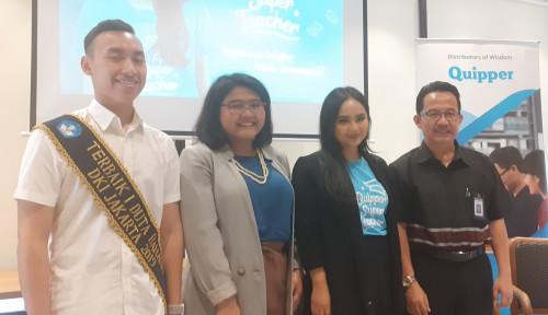 Foto Susul Tasya Kamila, Gita Gutawa Ikut Gabung dengan Quipper Super Teacher