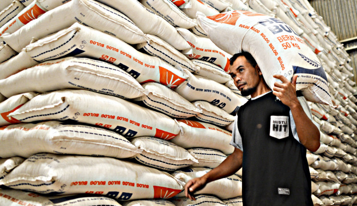 stok beras banten terkendali, psbb diterapkan oke-oke saja