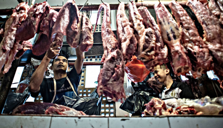 Astaga! Oplosan Daging Celeng Jadi Bakso dan Rendang