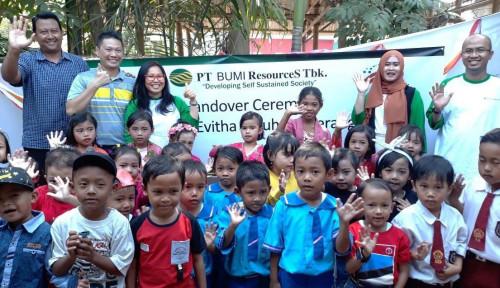 Penuhi SDGs, Anak Usaha Bakrie Group Bangun Sekolah PAUD di Tangerang
