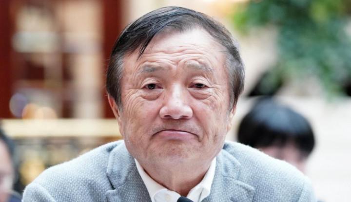 Foto Berita Bukan Brand-nya Sendiri, Kok Pendiri Huawei Malah Puji iPhone?