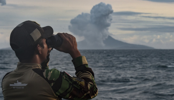 Gempa Banten Tak Pengaruhi Aktivitas Gunung Anak Krakatau - Warta Ekonomi