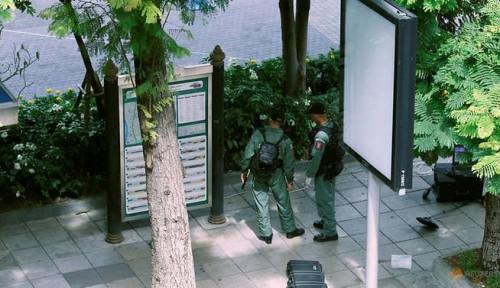 Foto Thailand Dikepung Teroris, 6 Bom Meledak Bersamaan