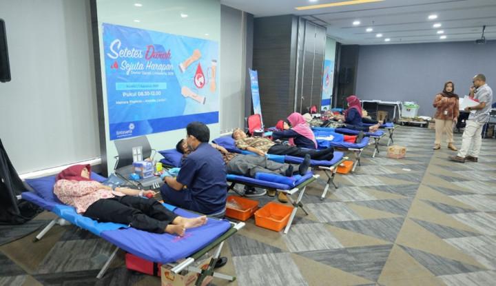 Sambut HUT RI ke-74, Lintasarta Gelar Donor Darah - Warta Ekonomi
