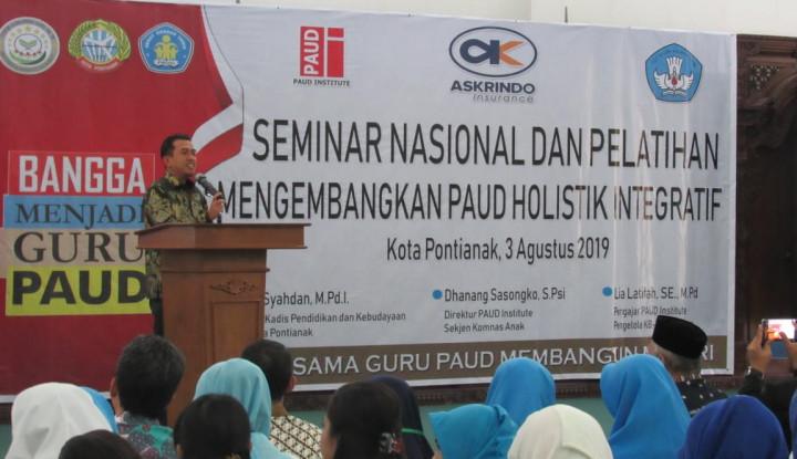 Dukung Generasi Berkualitas, Askrindo Beri Pelatihan 1.000 Guru PAUD di 3 Kota - Warta Ekonomi