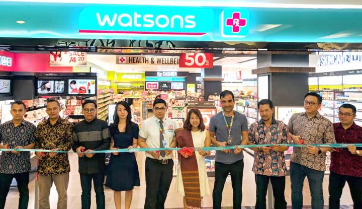 Watsons Buka Gerai ke 123, Kali Ini di Medan - Warta Ekonomi