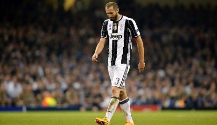 Chiellini Kembali Berlatih dengan Juventus