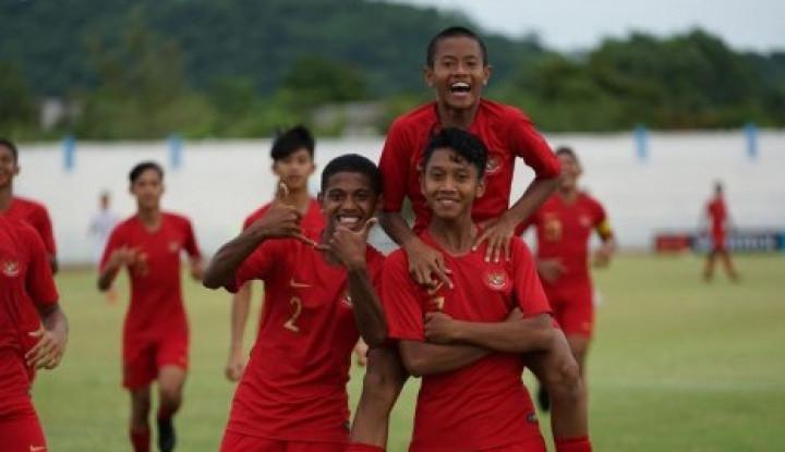 Indonesia Lolos ke Semifinal Piala AFF U-15 - Warta Ekonomi